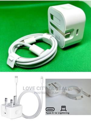 iPhone 11 to 12 Pro Max 20W Fast Charger USB-C Power Adapter | Accessories for Mobile Phones & Tablets for sale in Lagos State, Isolo