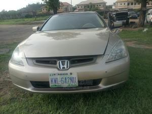 Honda Accord 2007 Coupe LX V-6 Automatic Gold   Cars for sale in Abuja (FCT) State, Lokogoma