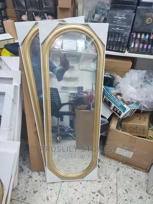 Wall Hanging Mirror . Colour: Gold . | Home Accessories for sale in Lagos State, Ipaja
