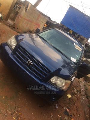 Toyota Highlander 2003 V6 AWD Blue | Cars for sale in Lagos State, Alimosho