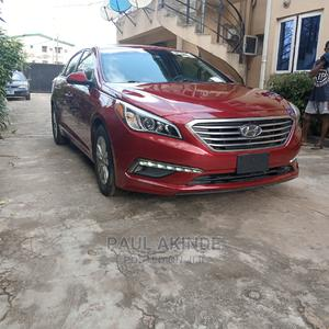 Hyundai Sonata 2015 Red | Cars for sale in Lagos State, Ikeja