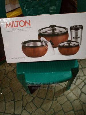 Milton Stell Combo Set Food Warmer | Kitchen Appliances for sale in Lagos State, Lagos Island (Eko)