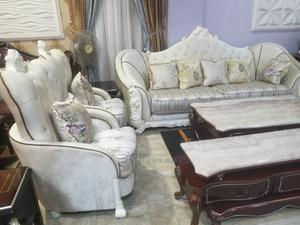 7seater Imported Turkey Royal Fabric Sofa Chair Quality Chai   Furniture for sale in Lagos State, Ajah