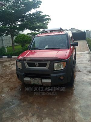 Honda Element 2006 LX Automatic Red | Cars for sale in Ogun State, Sagamu