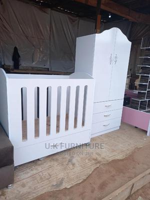 New Baby Wardrobe and Baby Bed Frame    Furniture for sale in Abuja (FCT) State, Lugbe District