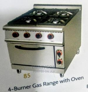 4 Burner Gas Cooker and Oven   Restaurant & Catering Equipment for sale in Lagos State, Ojo