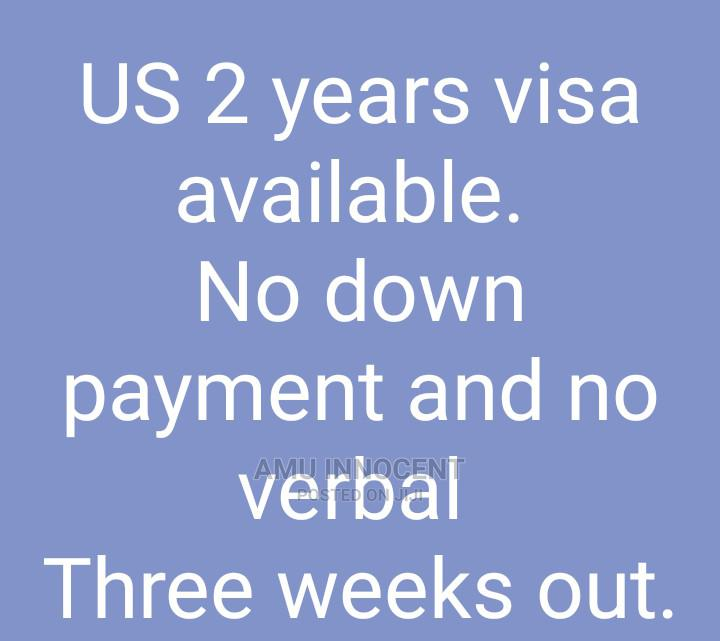 US 2years Visa Available.