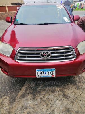 Toyota Highlander 2008 Limited Red | Cars for sale in Lagos State, Amuwo-Odofin