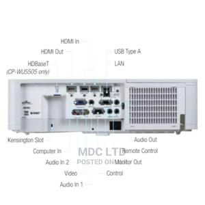 Hitachi 5000 Lumens Wu5500 Projector   TV & DVD Equipment for sale in Lagos State, Ikeja
