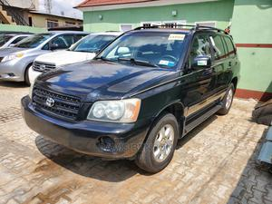 Toyota Highlander 2003 Black   Cars for sale in Lagos State, Agege