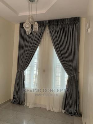 Perfectly Made Gray Curtain | Home Accessories for sale in Lagos State, Yaba