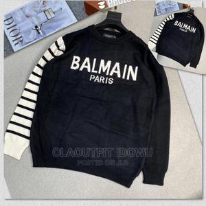 Quality Balmain Long T-Shirt Available Now   Clothing for sale in Lagos State, Lagos Island (Eko)