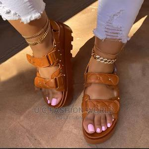 Female Leather Quality Sandals | Shoes for sale in Lagos State, Lagos Island (Eko)
