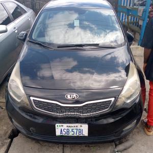 Kia Rio 2007 1.4 Automatic Black   Cars for sale in Delta State, Warri