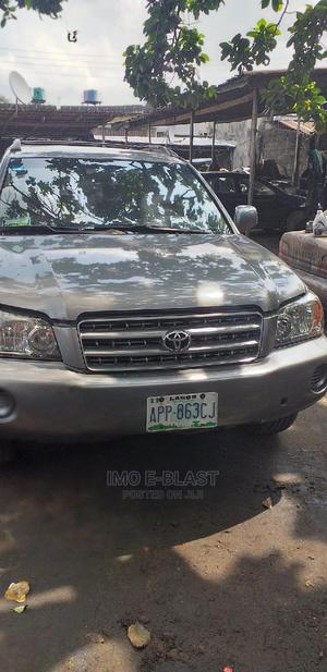 Toyota Highlander 2004 Gray | Cars for sale in Rivers State, Port-Harcourt