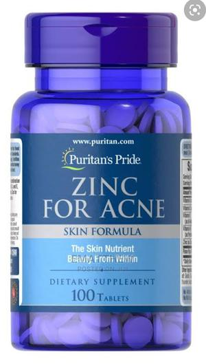 Zinc Supplement for Acne Treatment | Vitamins & Supplements for sale in Lagos State, Mushin