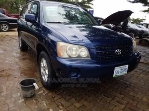 Toyota Highlander 2003 Limited V6 AWD Blue   Cars for sale in Abuja (FCT) State, Durumi