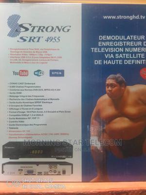 Strong Satellite Decoder SRT 4955   TV & DVD Equipment for sale in Lagos State, Ojo