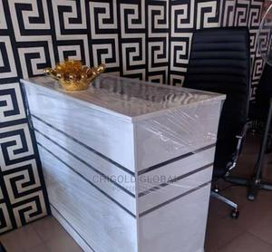 Standard Office Reception Table With Glass | Furniture for sale in Lagos State, Shomolu