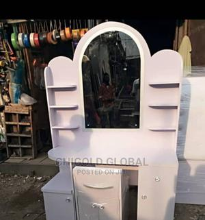 Dressing Mirror With Shelves and Drawer White | Furniture for sale in Lagos State, Shomolu