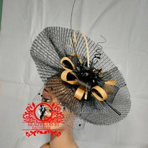 Beautiful Black and Gold Fascinator | Clothing Accessories for sale in Enugu State, Enugu