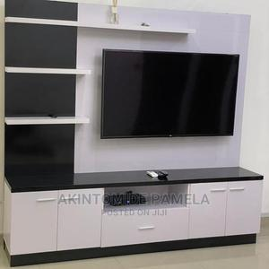 White Tv Stand   Furniture for sale in Lagos State, Maryland