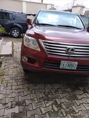 Lexus LX 2009 570 Red   Cars for sale in Lagos State, Ikeja