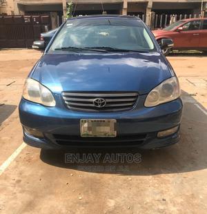 Toyota Corolla 2003 Sedan Automatic Blue   Cars for sale in Lagos State, Surulere