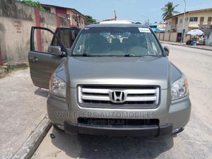 Honda Pilot 2007 EX 4x2 (3.5L 6cyl 5A) Gray | Cars for sale in Lagos State, Amuwo-Odofin