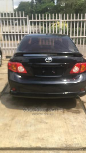 Toyota Corolla 2009 Black | Cars for sale in Lagos State, Alimosho