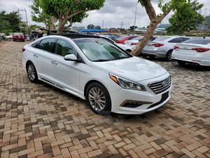 Hyundai Sonata 2015 White | Cars for sale in Abuja (FCT) State, Gwarinpa