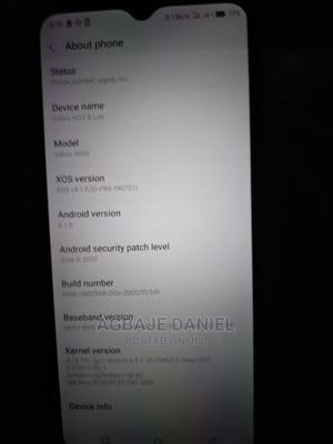 Infinix Hot 8 Lite 32 GB Black | Mobile Phones for sale in Ondo State, Akure