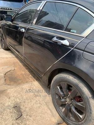 Honda Accord 2008 Black | Cars for sale in Abuja (FCT) State, Lugbe District