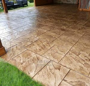 Stamped (Concrete) Floor   Building Materials for sale in Abuja (FCT) State, Kubwa