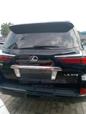 Lexus LX 2019 570 AWD Black   Cars for sale in Abuja (FCT) State, Central Business Dis