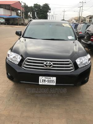 Toyota Highlander 2010 Sport Black | Cars for sale in Lagos State, Alimosho