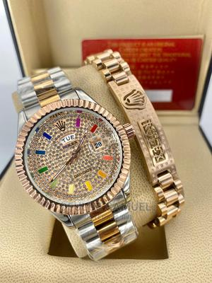 Rolex Wristwatch With Bracelet   Watches for sale in Lagos State, Surulere