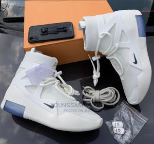 Nike Air Fear of God 1' High Top Sneakers   Shoes for sale in Lagos State, Victoria Island
