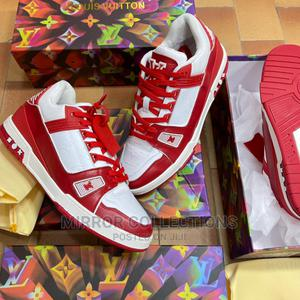Louis Vuitton Sneakers Red   Shoes for sale in Lagos State, Eko Atlantic