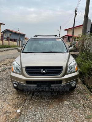 Honda Pilot 2004 Gold | Cars for sale in Lagos State, Ojodu