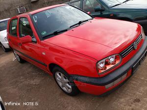 Volkswagen Golf 1998 Red   Cars for sale in Kaduna State, Kaduna / Kaduna State