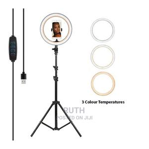 10 Inches LED Dimmable Ringlight | Accessories & Supplies for Electronics for sale in Rivers State, Port-Harcourt