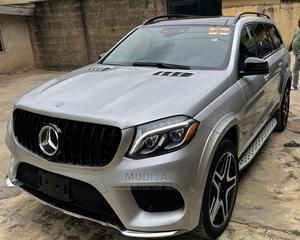 Mercedes-Benz GLS-Class 2019 GLS550 4MATIC Silver   Cars for sale in Lagos State, Yaba