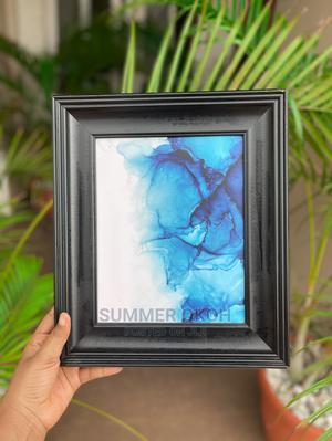 Blue Flower Wall Art/Picture Frame Decoration | Arts & Crafts for sale in Enugu State, Enugu