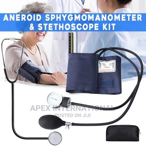 Blood Pressure Kit Sphygmomanometer With Stethoscope   Medical Supplies & Equipment for sale in Lagos State, Victoria Island