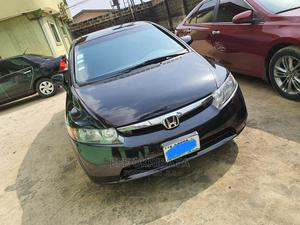Honda Civic 2008 1.6i ES Automatic Black | Cars for sale in Delta State, Uvwie