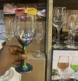 6pcs Colored Wine Glass | Kitchen & Dining for sale in Lagos State, Ikeja