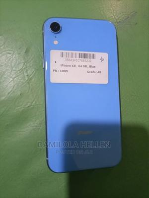 Apple iPhone XR 64 GB Blue   Mobile Phones for sale in Lagos State, Abule Egba