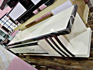 Classic and Elegant Adjustable Glass Tv Stand   Furniture for sale in Lagos State, Ajah