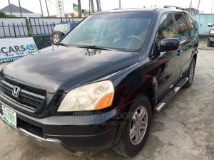 Honda Pilot 2005 EX 4x4 (3.5L 6cyl 5A) Black | Cars for sale in Rivers State, Port-Harcourt